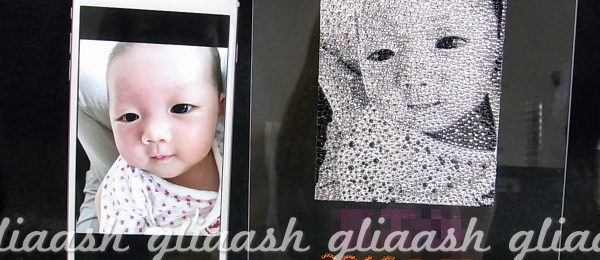 赤ちゃん記念写真デコ