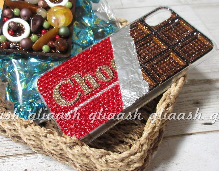 chocolateデコiPhoneXsカバー