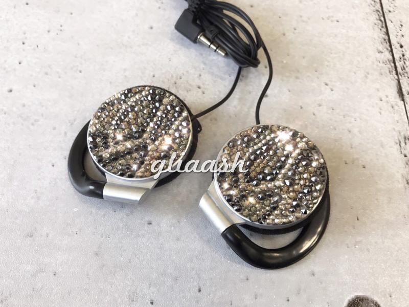 Python pattern decoration headphone