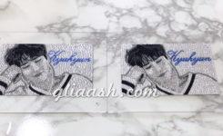 Super Juniorキュヒョン氏のデコパネル