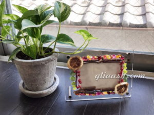 natural materials and bijour photo framee