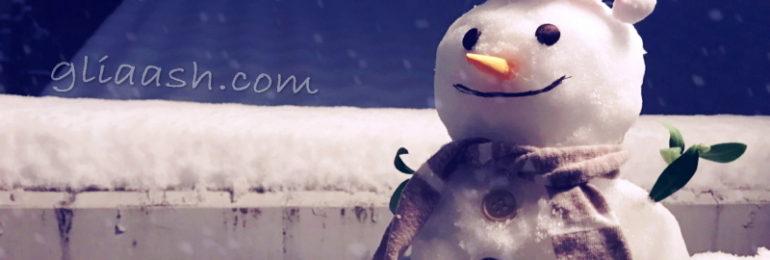 雪だるまsnowman