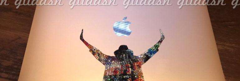 マイケルジャクソンThis is itスワロデコMac Book Air