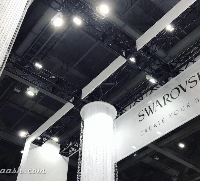 日本ホビーショー2019SWAROVSKIブース