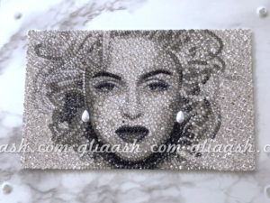 Madonna portrait decoration
