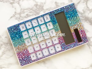 Swarovski crystalized calculator