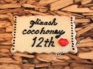 アイシングロゴ入りクッキー周年祝い