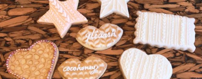 ニット風アイシングクッキー