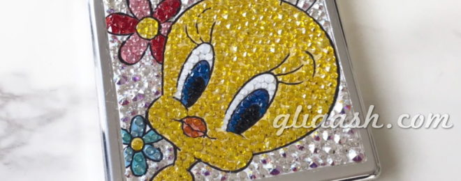 Tweety bird decoration mirror