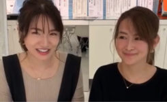 星野佳世子&佐佐美季インスタライブ
