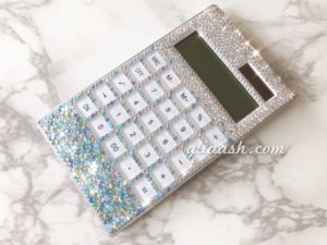 キラキラSWAROVSKI電卓