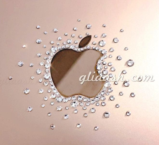 キラキラアップルマーク
