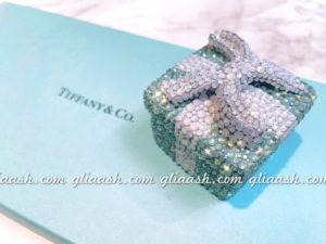 Tiffany×SWAROVSKIのギフトボックスキャニスターデコ