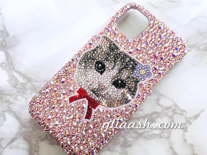 愛猫iphoneデコカバー